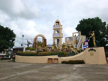 Das große Denkmal in Balangiga
